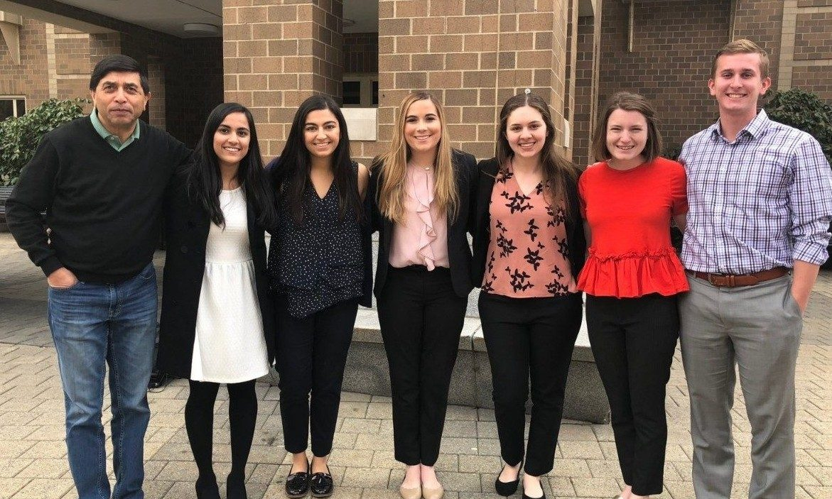 Undergraduate researchers represent Virginia Tech at ACC Meeting of the Minds